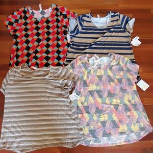 Lot of 4 classic tees from Lularoe NWT 3X